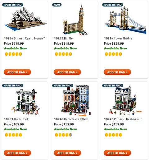 Shop LEGO Creator Architecture
