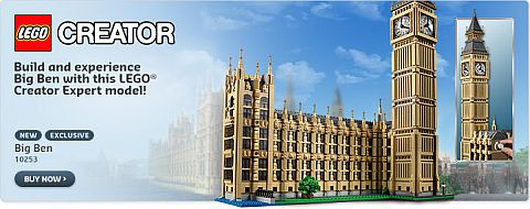 Shop LEGO Creator Big Ben