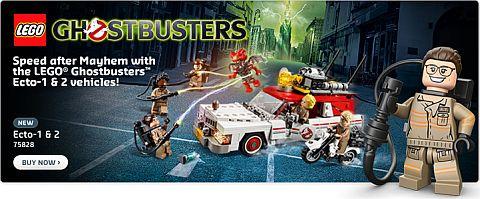 Shop LEGO Ghostbusters Ecto-1