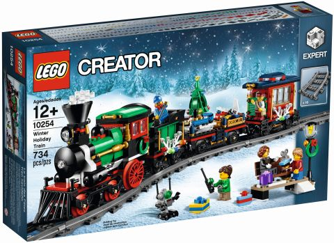 #10254 LEGO Holiday Train Box