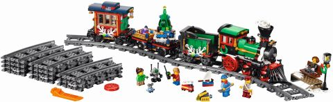 #10254 LEGO Holiday Train Coming