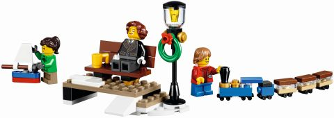 #10254 LEGO Holiday Train Minifigures