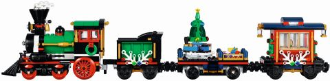 #10254 LEGO Holiday Train Side