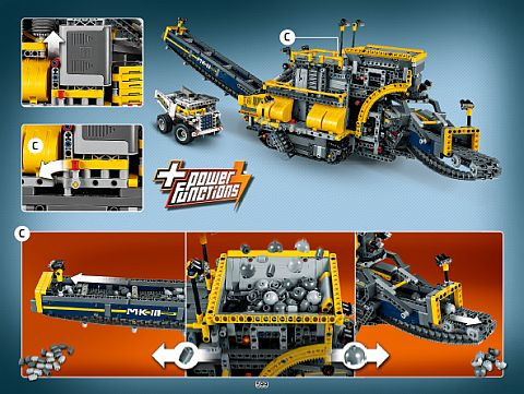 #42055 LEGO Technic Alternate