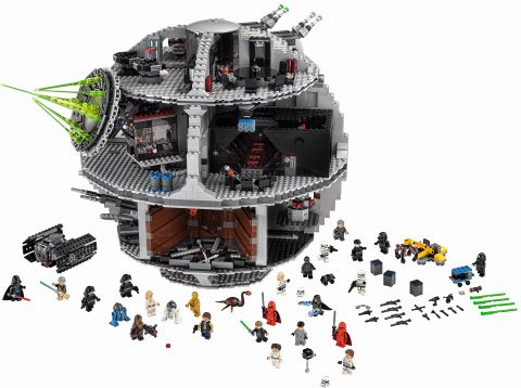 #75159 LEGO Star Wars Death Star Details