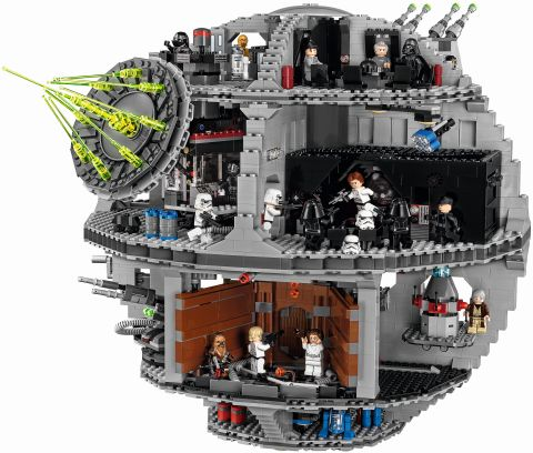 #75159 LEGO Star Wars Death Star Front View