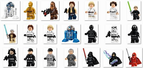 #75159 LEGO Star Wars Death Star Minifigs
