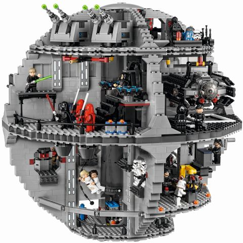 #75159 LEGO Star Wars Death Star Side View