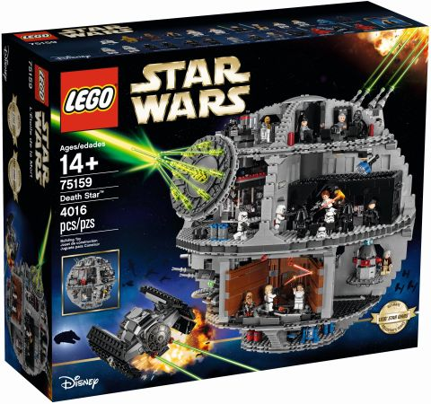 #75159 LEGo Star Wars Death Star Box Front