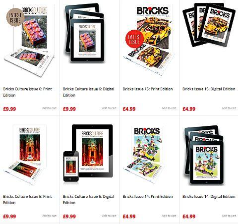 Bricks Magazine Shop