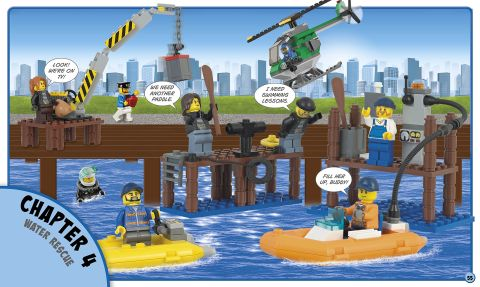 LEGO Book Build Your Own Adventure City 1