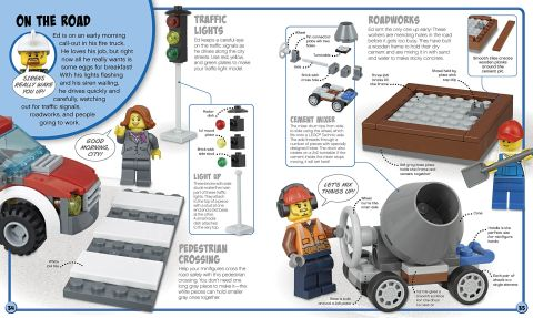 LEGO Book Build Your Own Adventure City 2