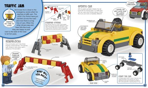 LEGO Book Build Your Own Adventure City 3