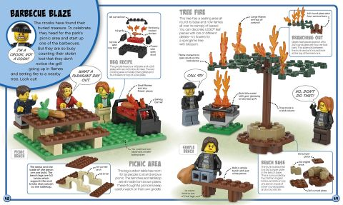 LEGO Book Build Your Own Adventure City 4