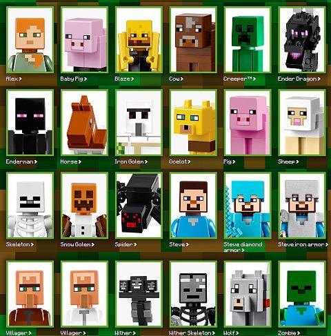LEGO Minecraft Animals
