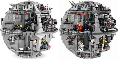 LEGO Star Wars Death Star Comparison 3