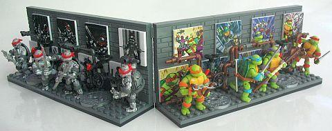 Mega Bloks TMNT Collection 1