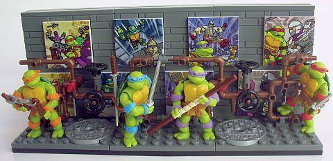 Mega Bloks TMNT Collection 2