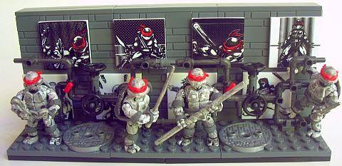 Mega Bloks TMNT Collection 3