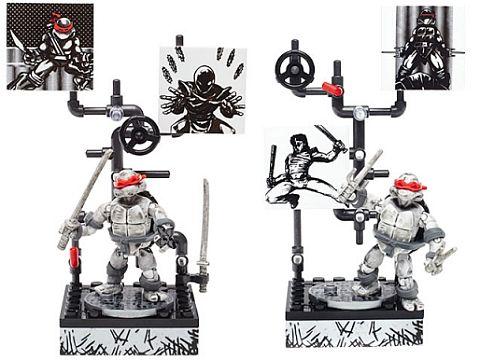 Mega Bloks TMNT Collector Series Figures