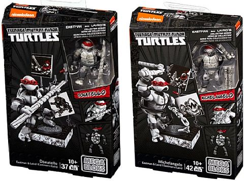 Mega Bloks TMNT Collector Series Packaging