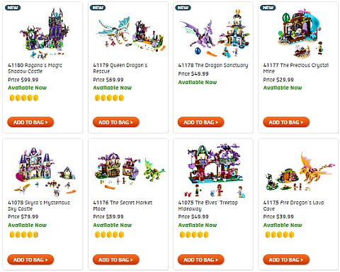 Shop LEGO Elves September Sets