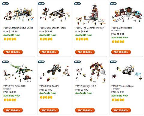 Shop LEGO Ninjago 2016