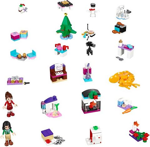 #41131 LEGO Advent Calendar Details