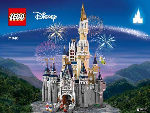 #71040 LEGO Disney Castle Display 1