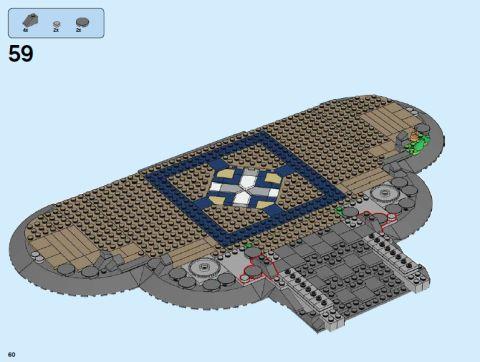 #71040 LEGO Disney Castle Display 2