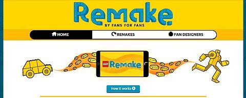 LEGO Remake Website