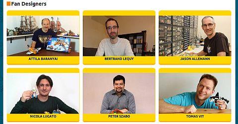 LEGo Remake Website Designers