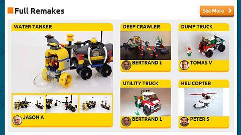 LEGo Remake Website Instructions