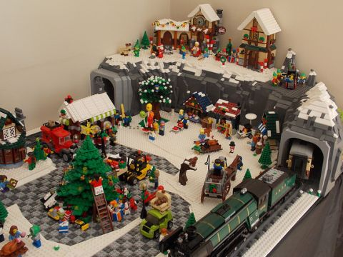 Ideas For Setting Up The Lego Winter Village