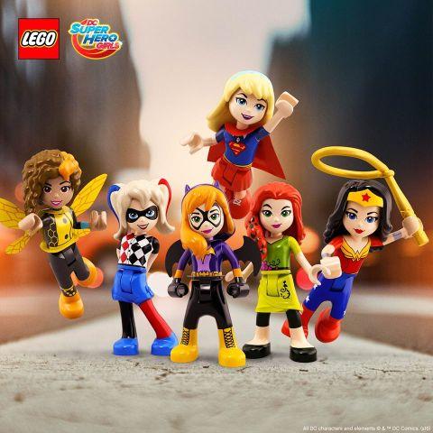 Watch Lego Dc Super Hero Girls Mini Movies