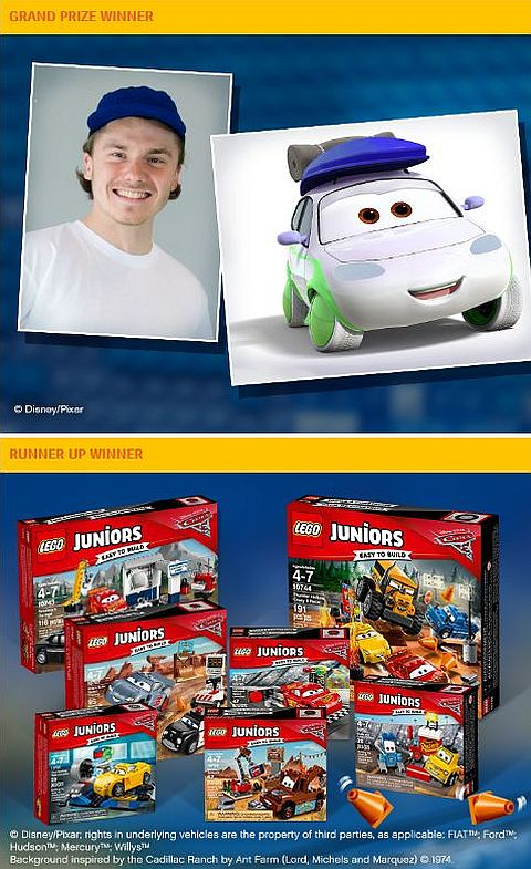 Lego Cars 3 Movie New Sets Contest