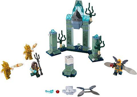 197 PCS, DC SUPER HEROES SET LEGO BATTLE OF ATLANTIS NEVER OPENED