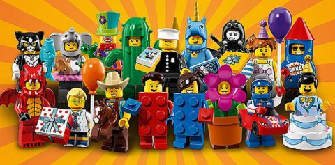 NEW Lego Series 18 BALLOON ARTIST Birthday Party CLOWN Minifigure~Animals~SEALED