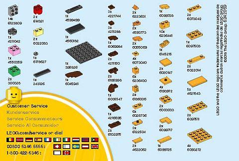 Lego Bright Light Yellow Torso Orange Giraffe Spots on Sides and Back Pattern
