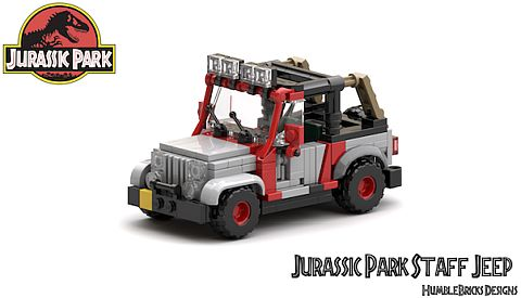 Lego Jurassic Park Vehicles Free Instructions