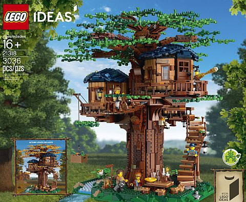 Lego Ideas Treehouse Review Thoughts