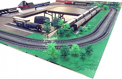 Lego Train Layout Landscape Standards