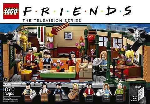 21319 LEGO Ideas Friends Central Perk 1