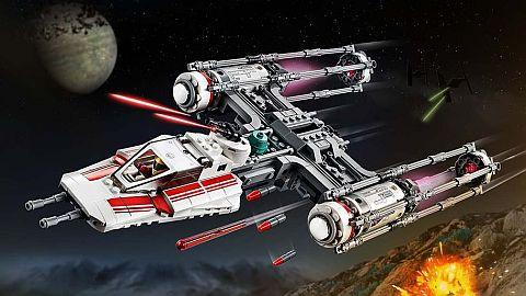 4 arrow red ORIGINAL LEGO Star Wars 2 x Spring loaded Shooter mechanism