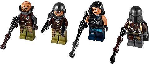 Star Wars LEGO® Klatooinian Raider with Helmet The Mandalorian Minifigure 75254