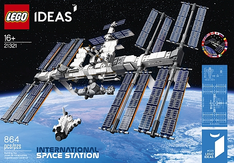 LEGO Ideas International Space Station Review