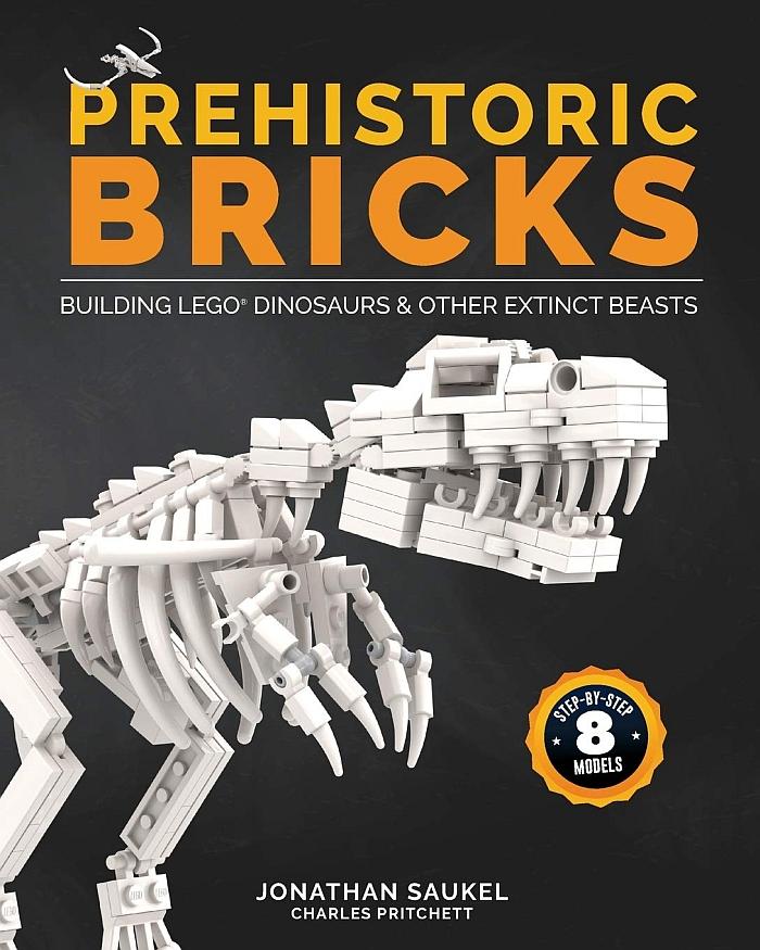 New LEGO Books: Building LEGO Dinosaurs & More!
