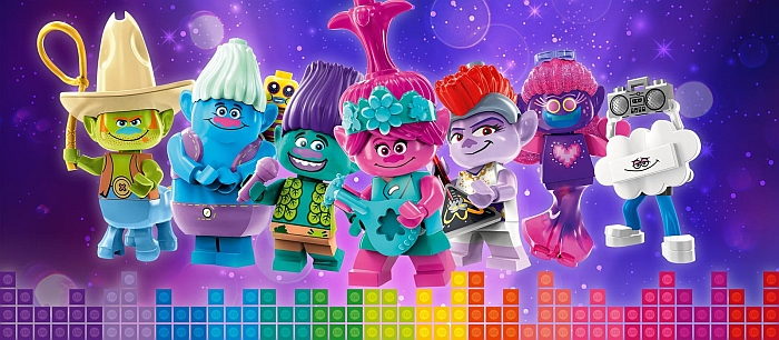 Lego Trolls World Tour Sets Overview