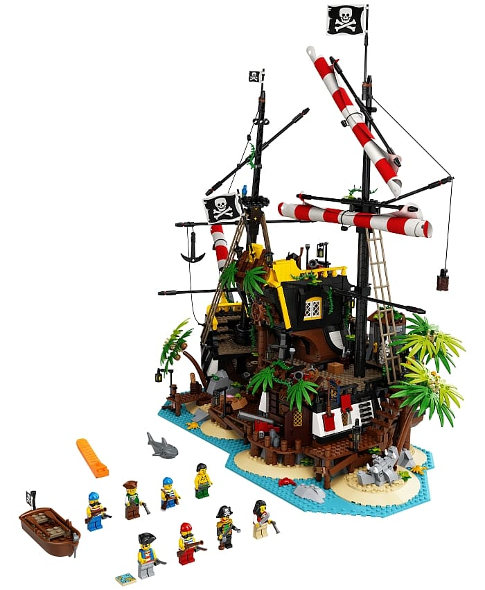 Lego Pirates Of Barracuda Bay Available Again