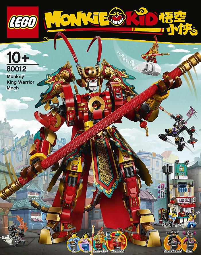 80012 LEGO Monkie Kid